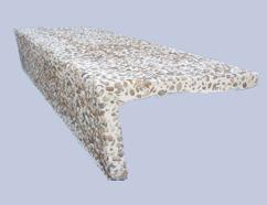 Prefabricados de hormig n terrazo y microchina piedra - Piedra artificial madrid ...